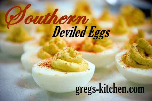 Southern Deviled Eggs  Southern Deviled Eggs