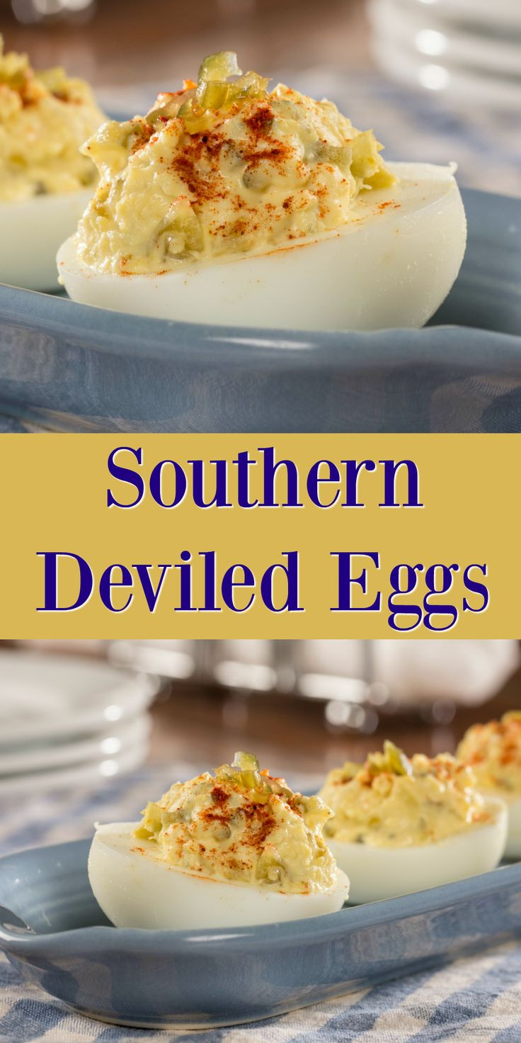 Southern Deviled Eggs  Best 25 Southern deviled eggs ideas on Pinterest