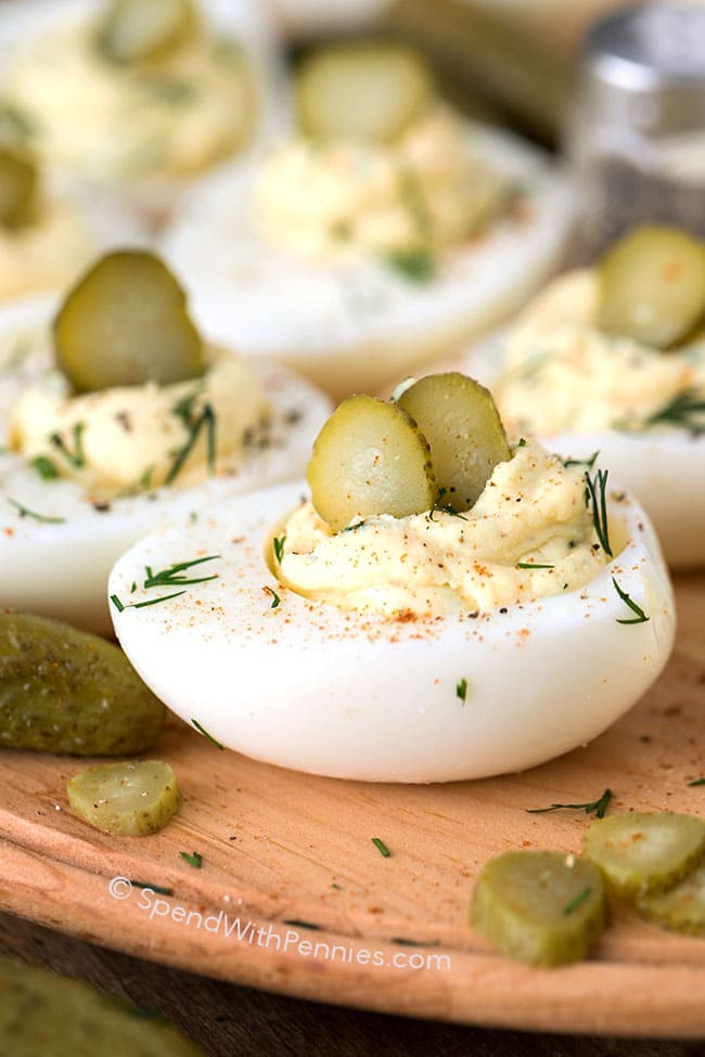 Southern Deviled Eggs  Classic Southern Deviled Egg Recipe The Southern Homesteader