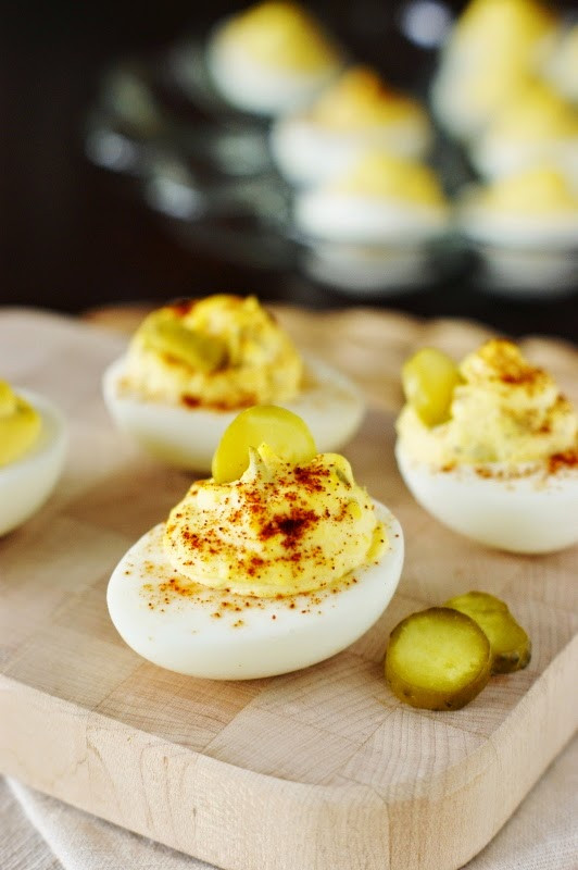 Southern Deviled Eggs  Classic Southern Deviled Eggs