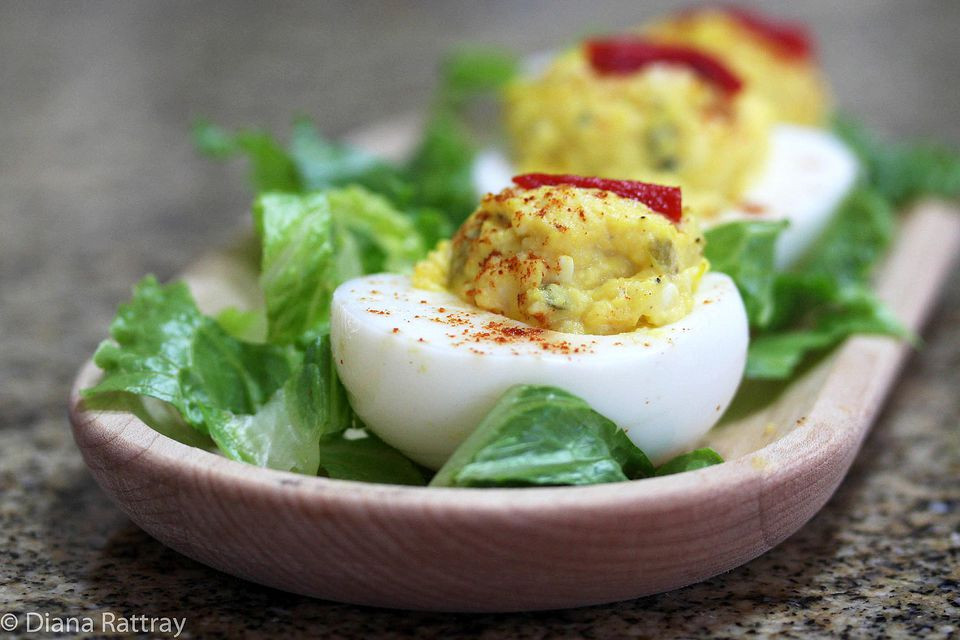 Southern Deviled Eggs  Southern Style Deviled Eggs Recipe