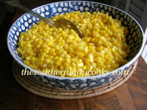 Southern Fried Corn  SKILLET FRIED CORN The Southern Lady Cooks