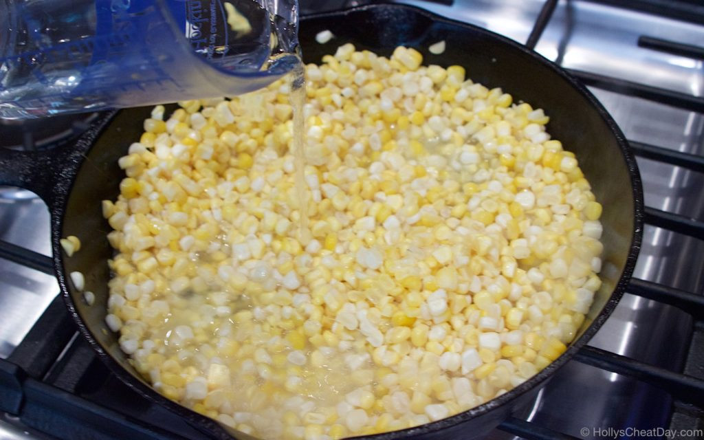 Southern Fried Corn  Summer Southern Series Skillet Fried Corn HOLLY S CHEAT DAY