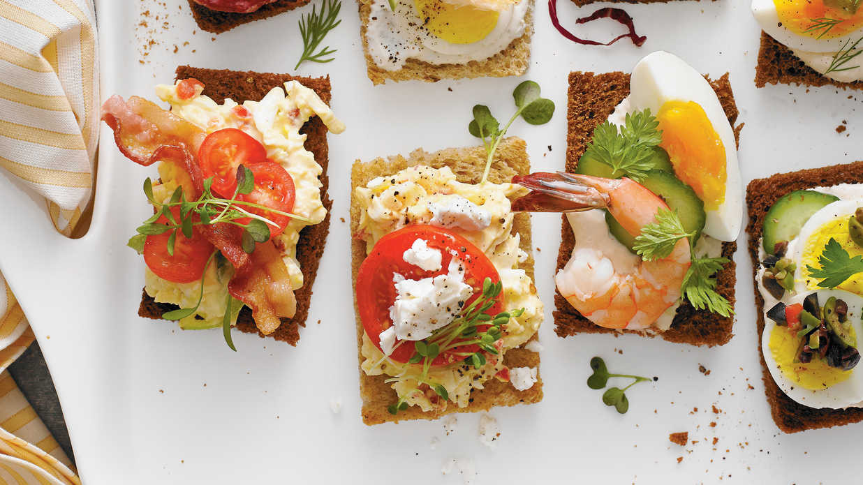 Southern Living Appetizers  Southern Style Smørrebrød Holiday Finger Food Appetizers