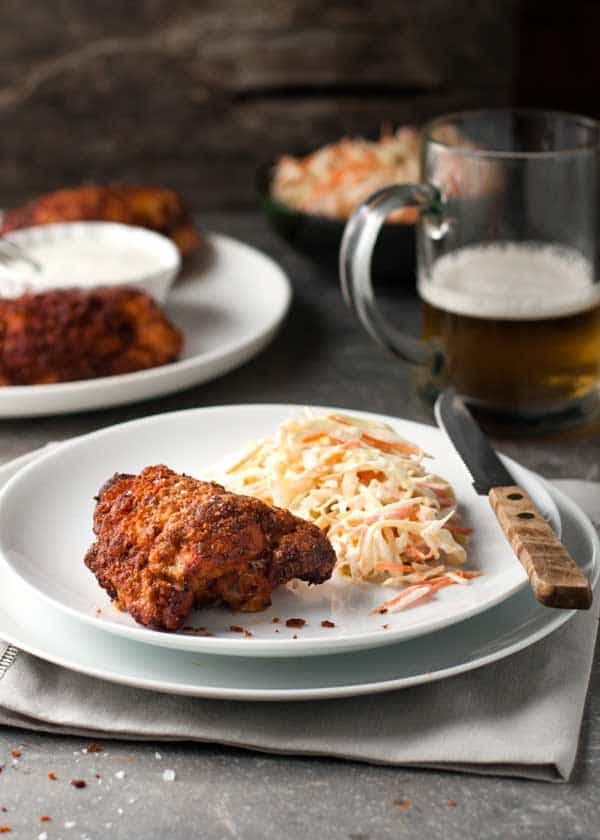 Southern Oven Fried Chicken  Southern Oven Fried Chicken ⋆ Real Housemoms