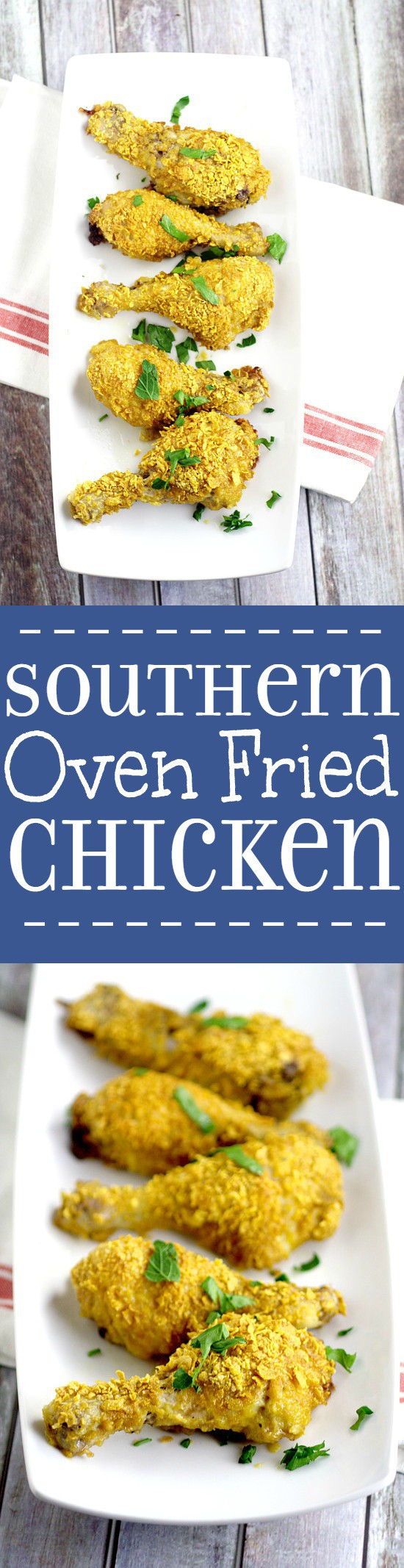 Southern Oven Fried Chicken  Southern Oven Fried Chicken