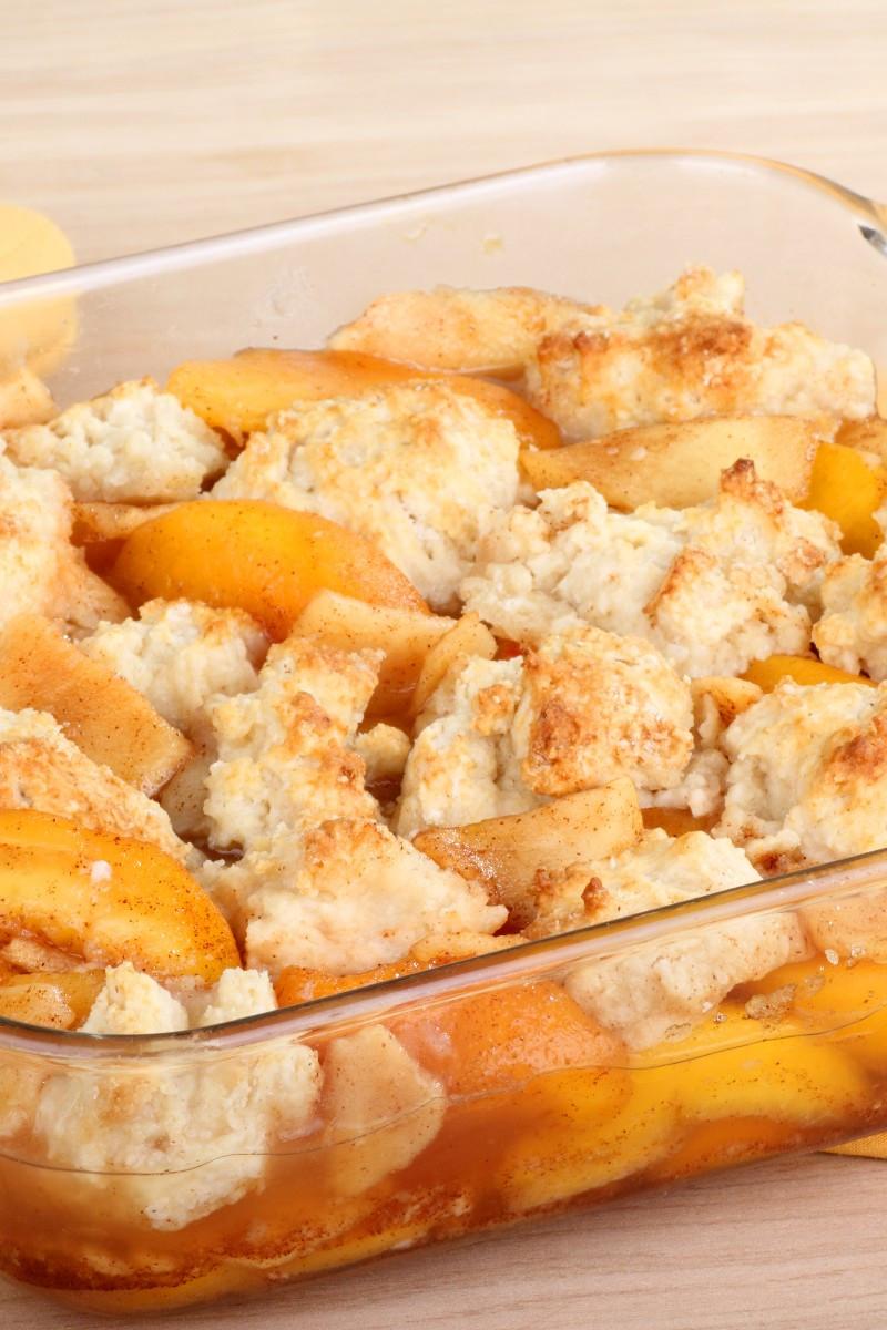 Southern Peach Cobbler Recipe  Southern Peach Cobbler