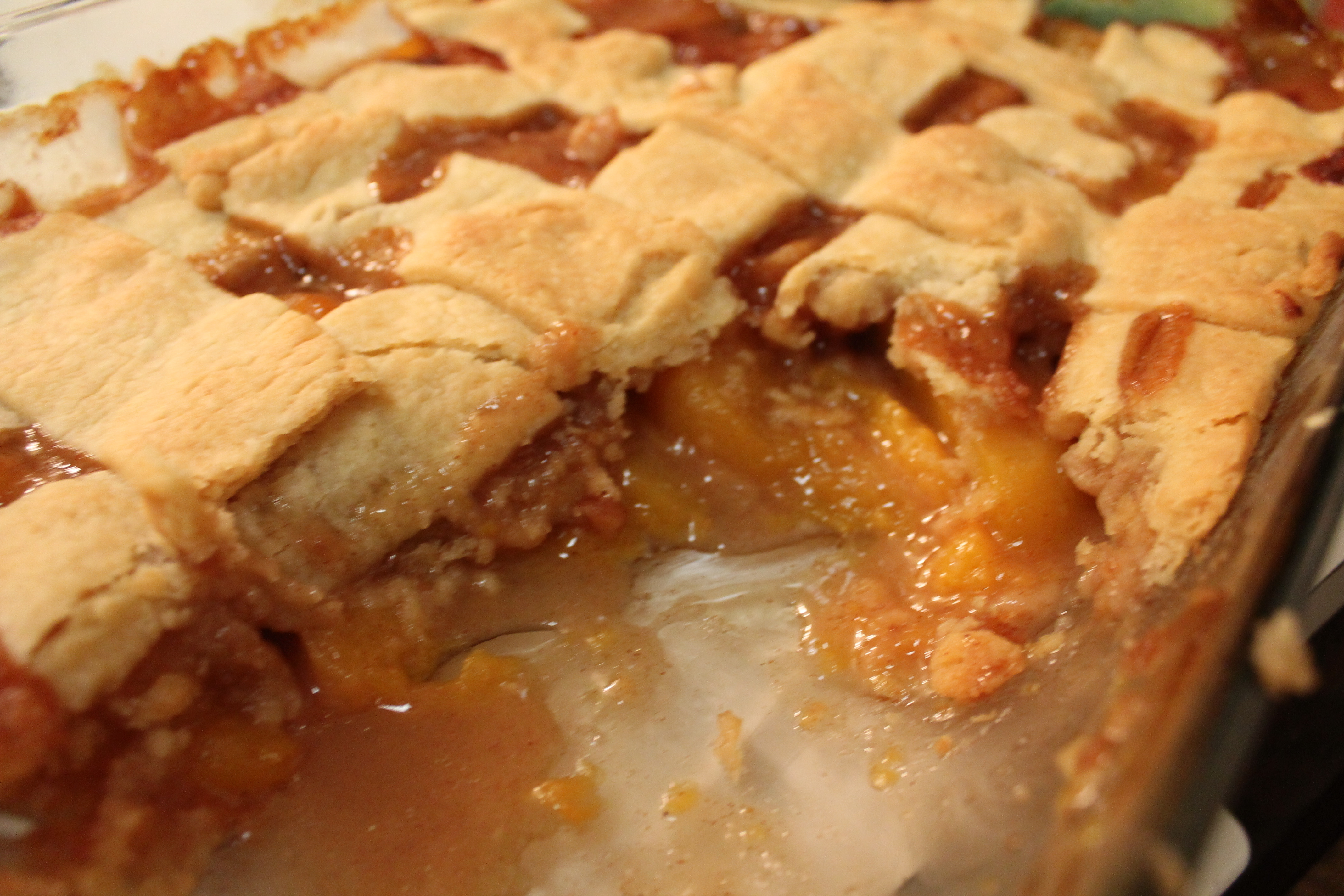 Southern Peach Cobbler Recipe  Grandma's Southern Peach Cobbler