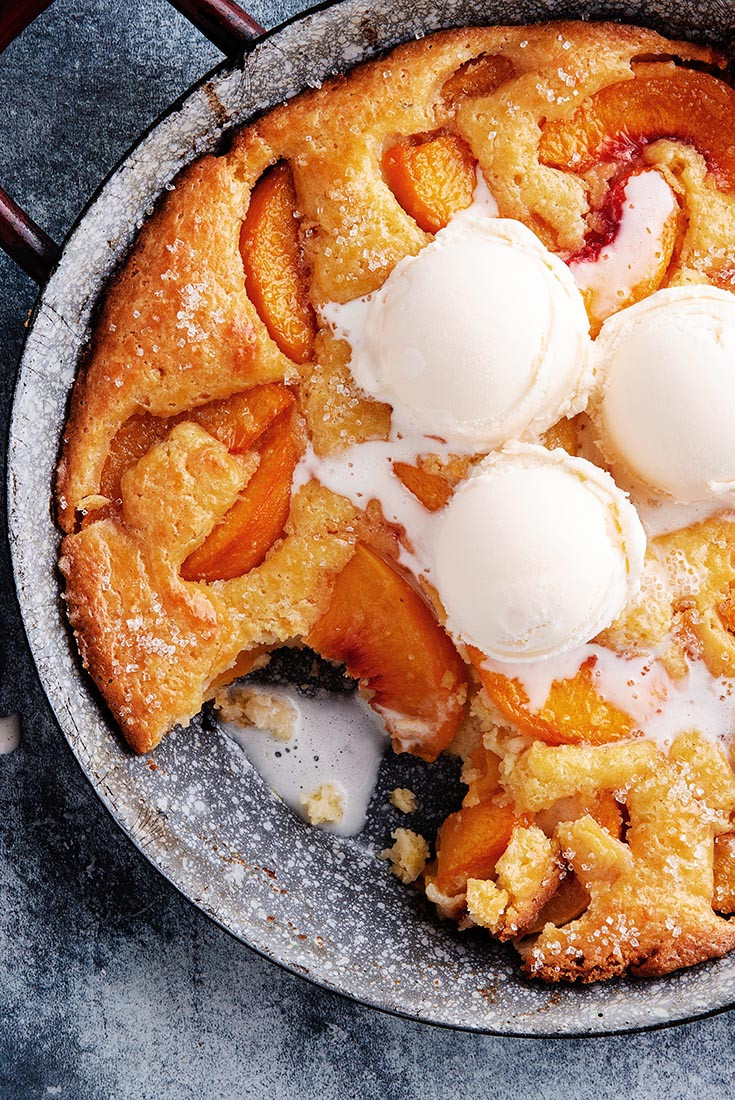 Southern Peach Cobbler Recipe  Southern Style Peach Cobbler Recipe