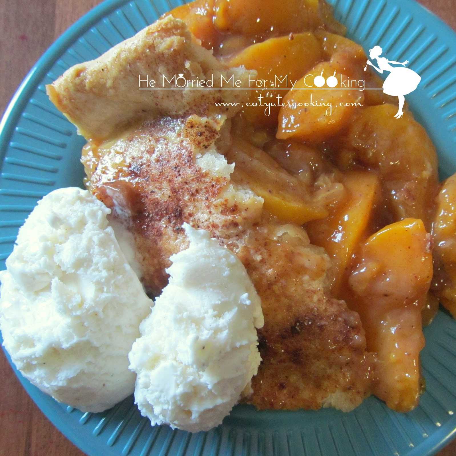 Southern Peach Cobbler  Southern Style Peach Cobbler Wait Til Your Father Gets