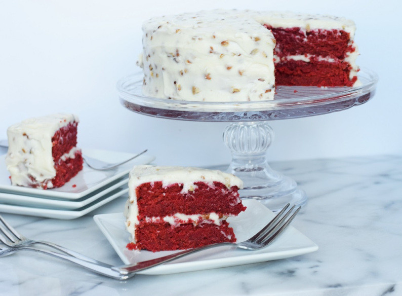 Southern Red Velvet Cake  Old Fashioned Southern Red Velvet Cake – Bunny Baubles