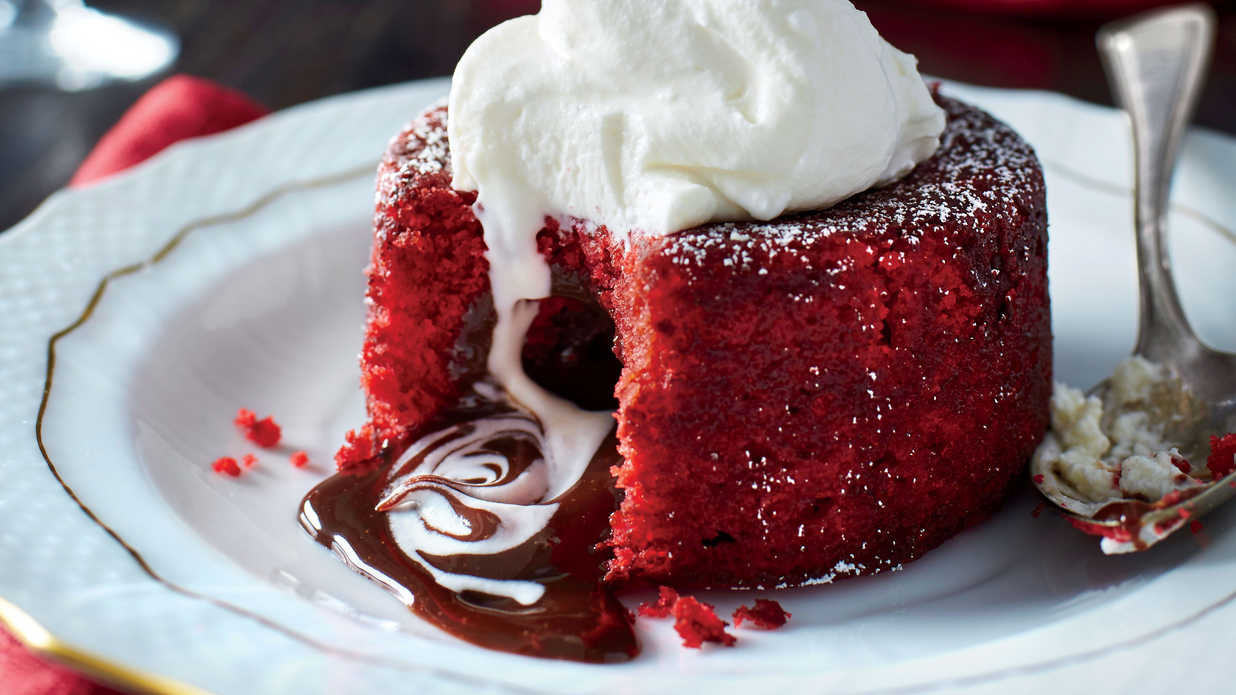 Southern Red Velvet Cake  Molten Red Velvet Cakes Recipe Southern Living