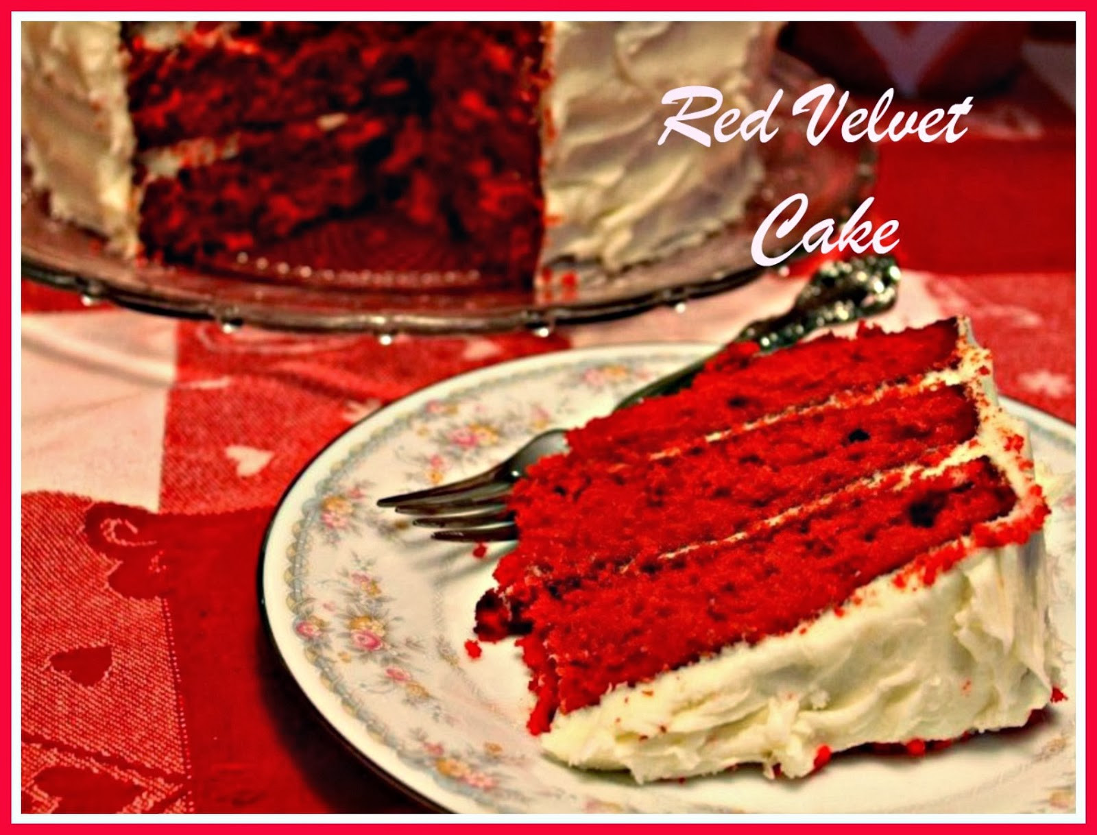 Southern Red Velvet Cake  Sweet Tea and Cornbread Southern Red Velvet Cake
