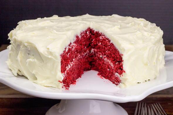 Southern Red Velvet Cake  Southern Style Red Velvet Cake