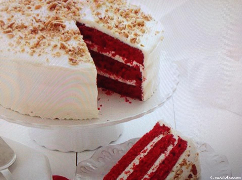 Southern Red Velvet Cake  Real Southern Red Velvet Cake Geaux Ask Alice