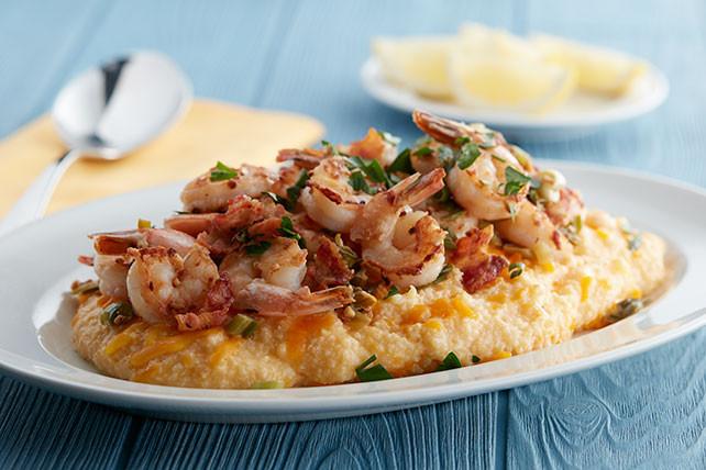 Southern Shrimp And Grits  Southern Shrimp and Grits Kraft Recipes