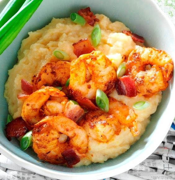 Southern Shrimp And Grits  South Your Mouth Southern Shrimp & Grits