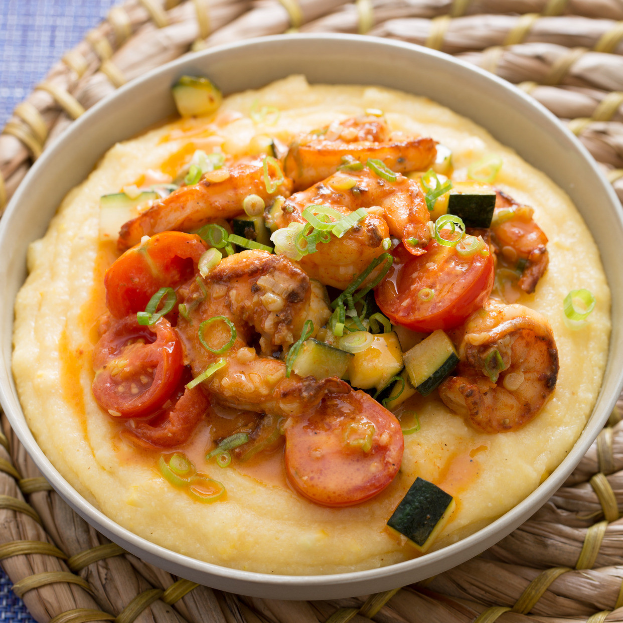 Southern Shrimp And Grits  Recipe Southern Style Shrimp & Grits with Corn Zucchini