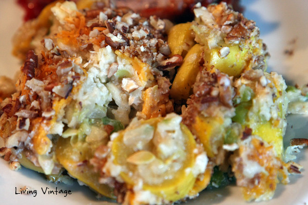 Southern Squash Casserole  Old Fashioned Southern Squash Casserole Living Vintage