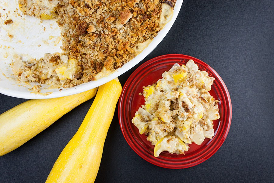 Southern Squash Casserole  Southern Yellow Squash Casserole Don t Sweat The Recipe