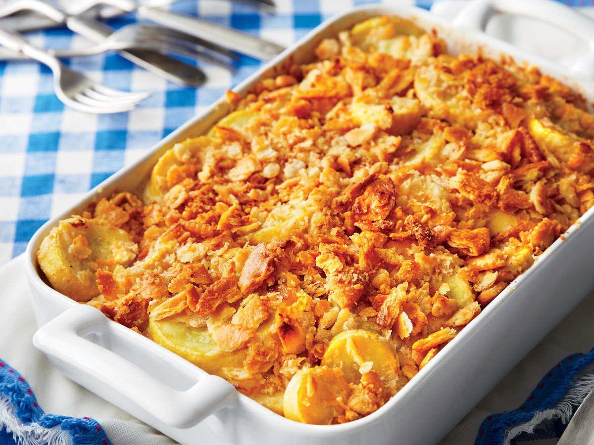 Southern Squash Casserole  We Would Never Ever Put This in Our Squash Casserole