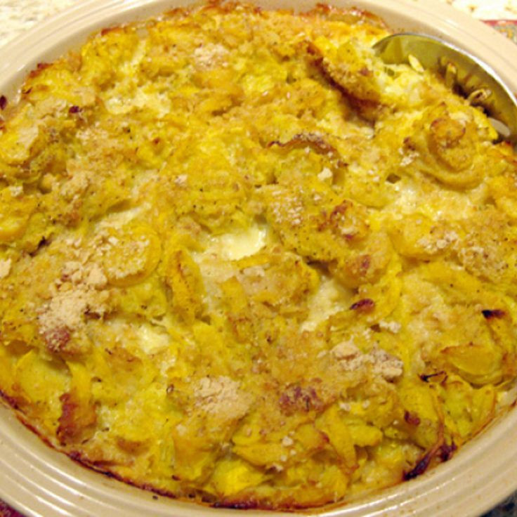 Southern Squash Casserole  100 Yellow Squash Recipes on Pinterest