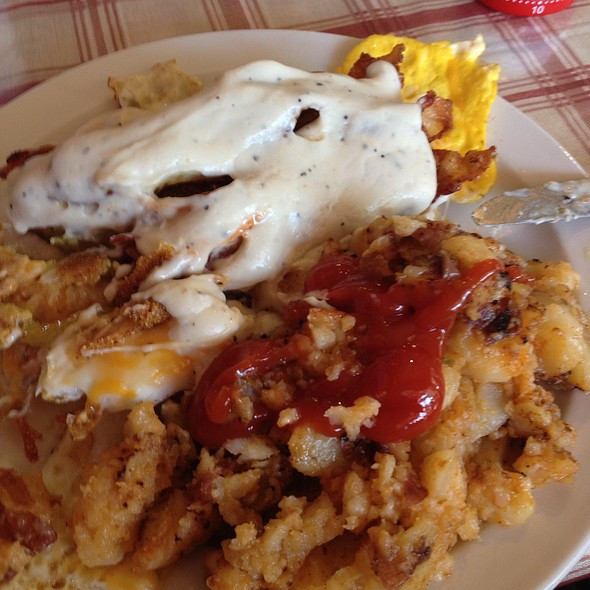 Southern Style Breakfast  The Ugly Rooster Cafe Menu Mechanicville NY Foodspotting