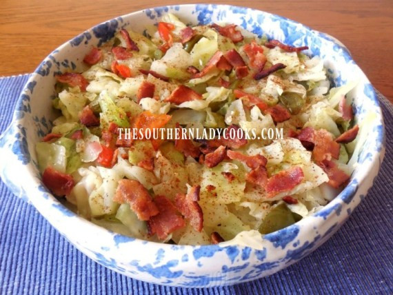 Southern Style Cabbage  SOUTHERN STYLE CABBAGE The Southern Lady Cooks