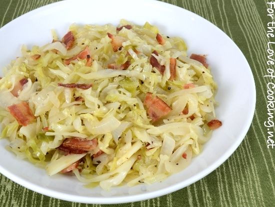 Southern Style Cabbage  A tasty side dish for St Patrick s Day Tangy Sautéed