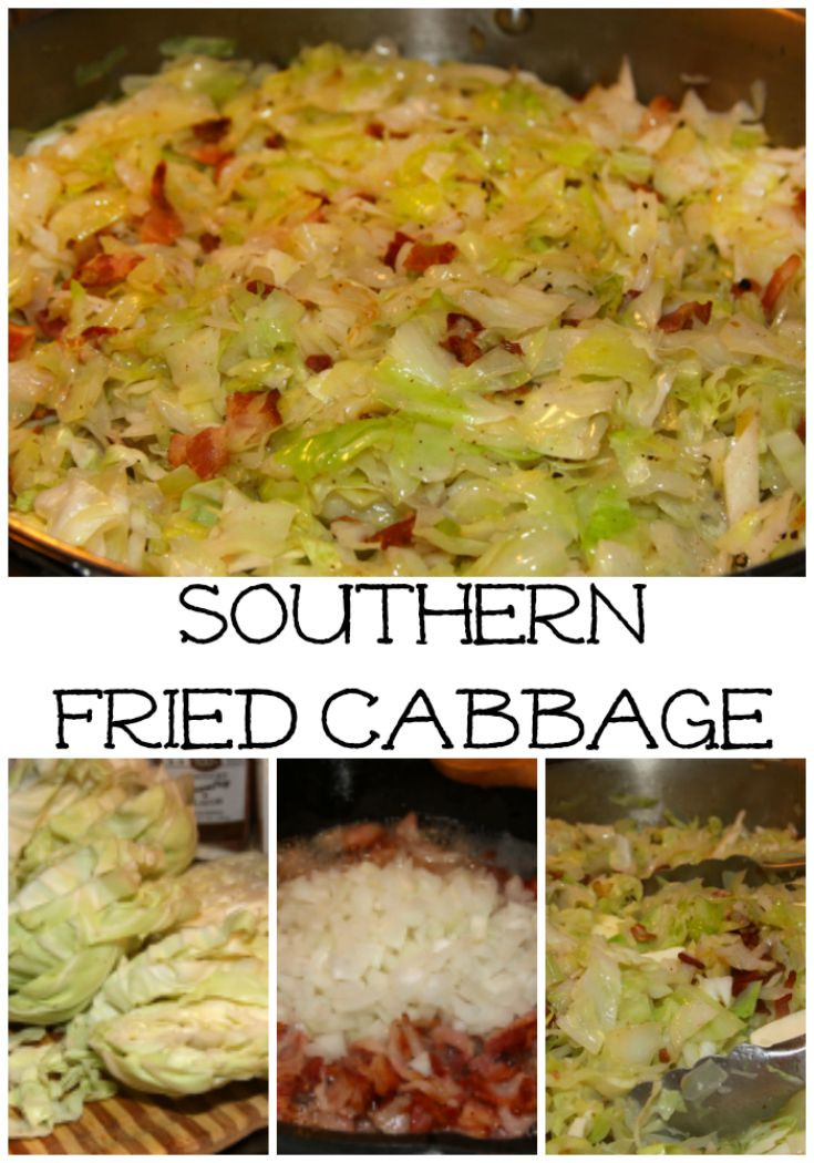Southern Style Cabbage  Best 25 Southern fried cabbage ideas on Pinterest