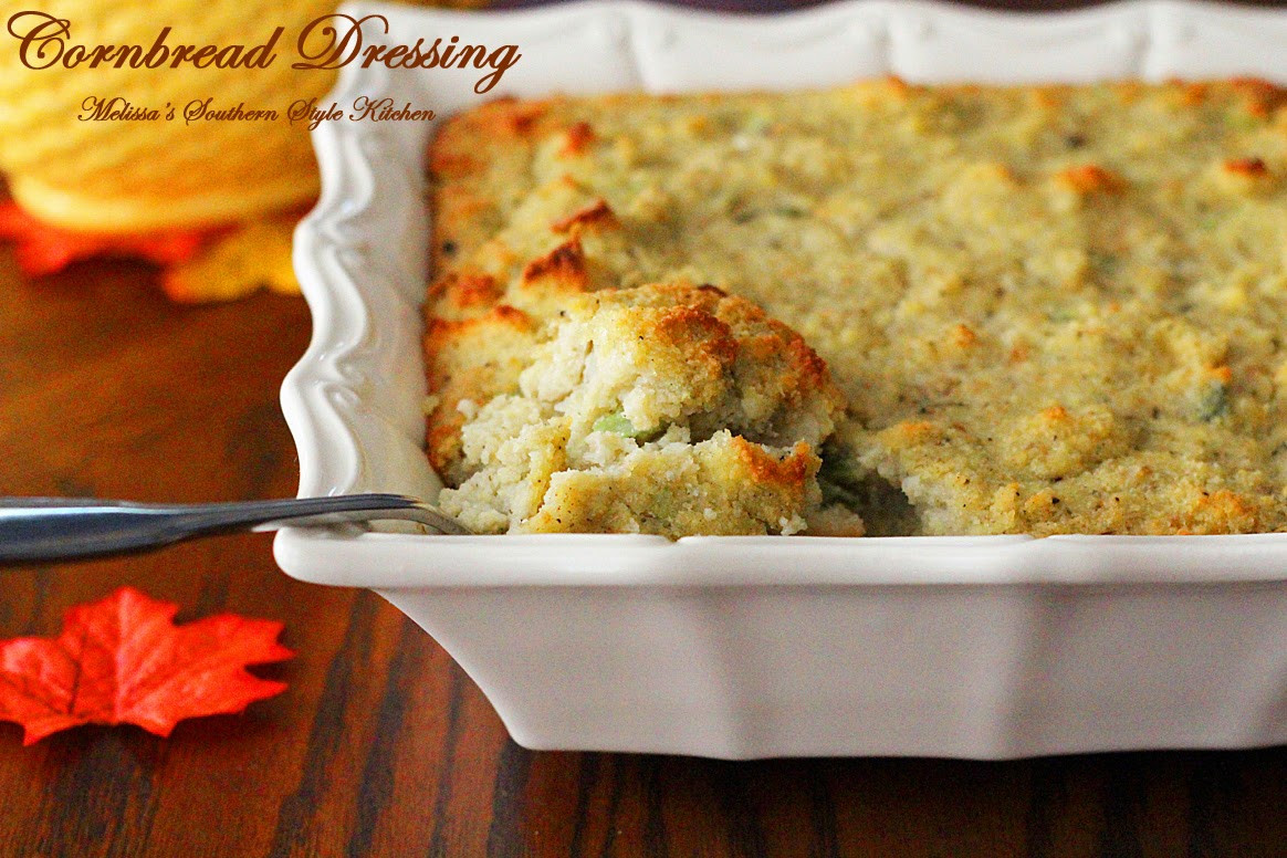 Southern Style Cornbread Dressing  Southern Style Cornbread Dressing Recipe — Dishmaps
