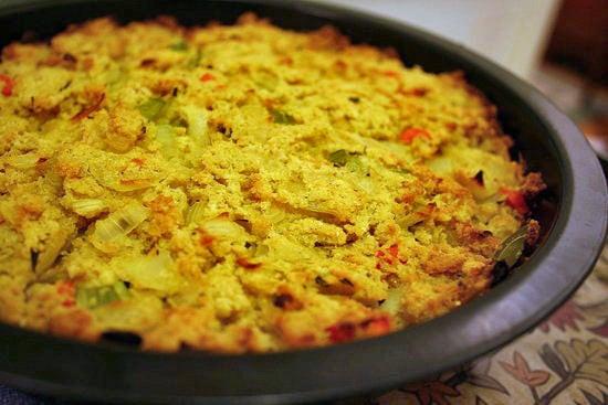 Southern Style Cornbread Dressing  Gluten Free Dressing Recipe