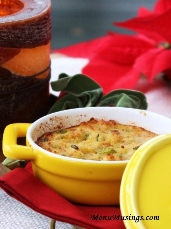 Southern Style Cornbread Dressing  Menu Musings of a Modern American Mom Southern Style