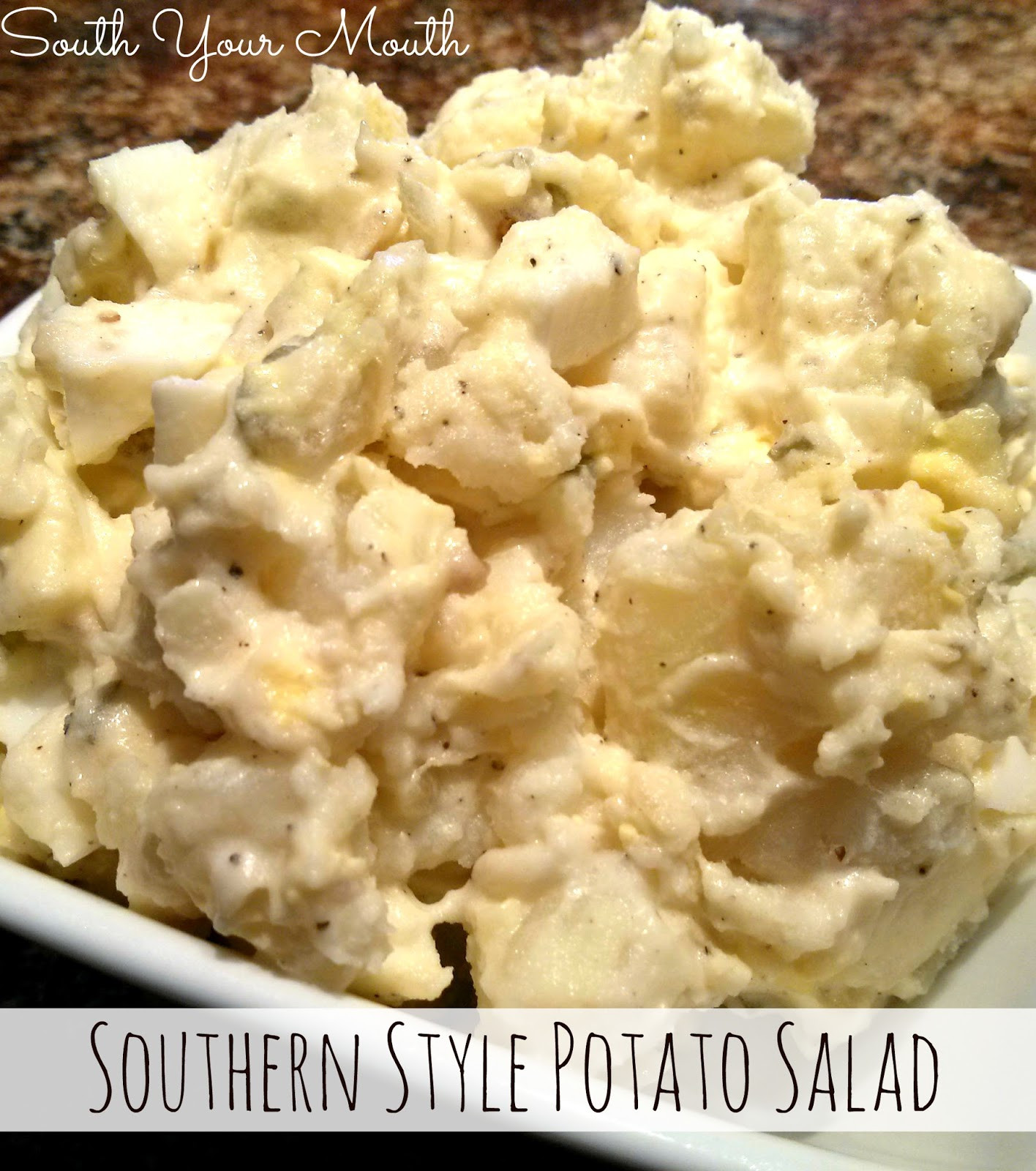 Southern Style Potato Salad  South Your Mouth Southern Style Potato Salad