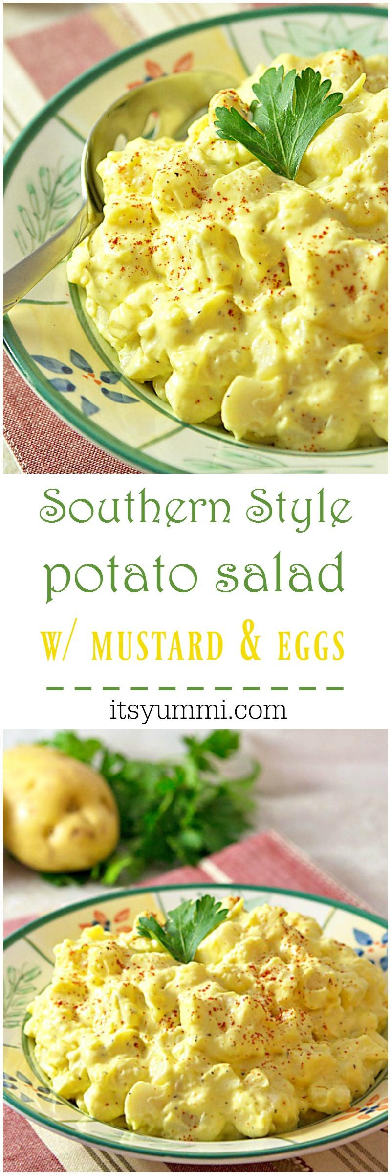 Southern Style Potato Salad  Southern Style Mustard Potato Salad ⋆ Its Yummi