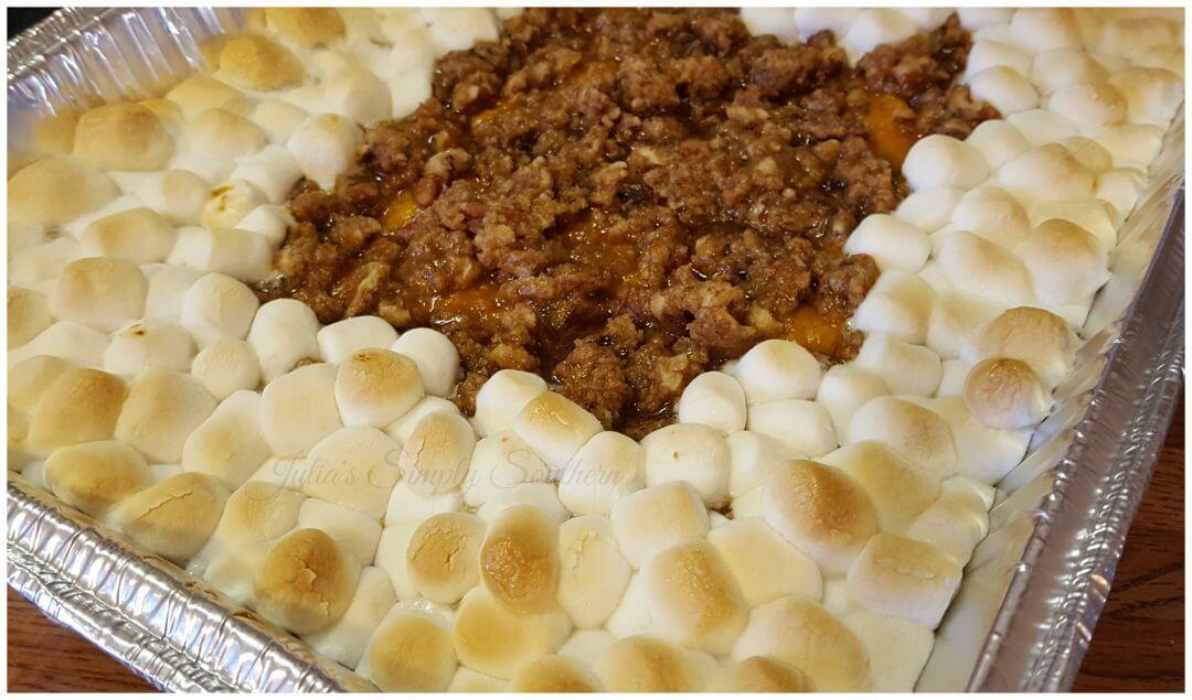Southern Sweet Potato Casserole Marshmallows  Southern Sweet Potato Casserole