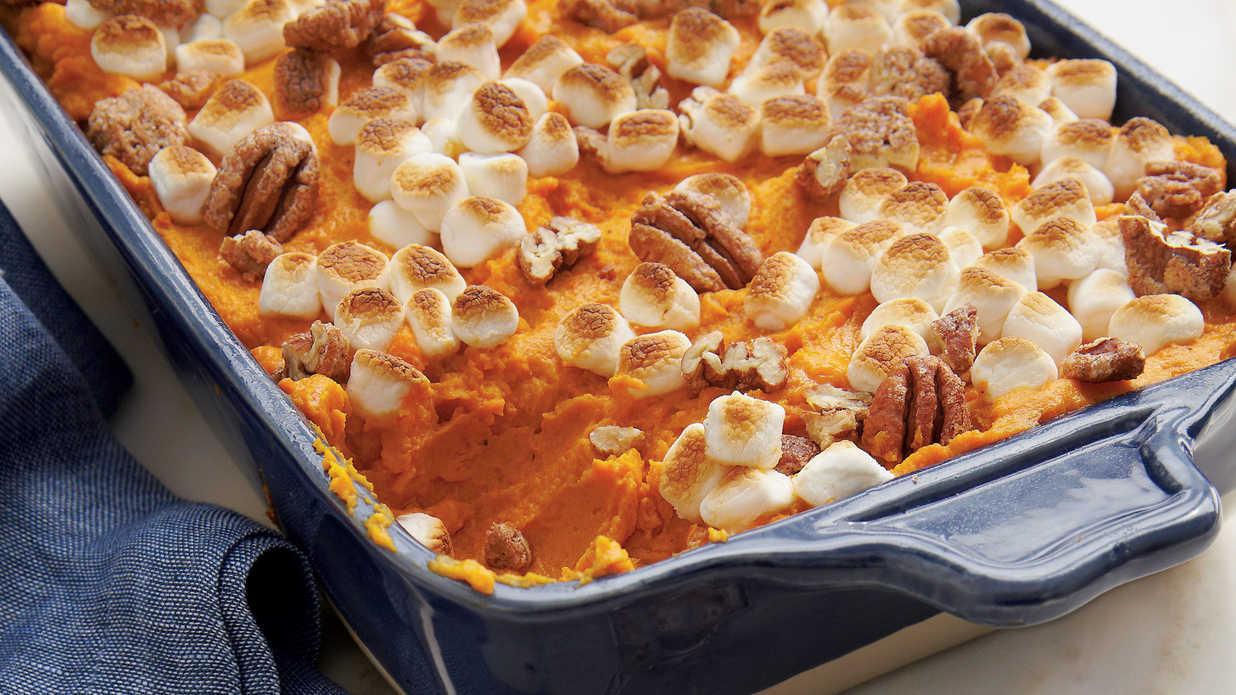 Southern Sweet Potato Casserole Marshmallows  Sweet Potato Casserole Recipes Southern Living