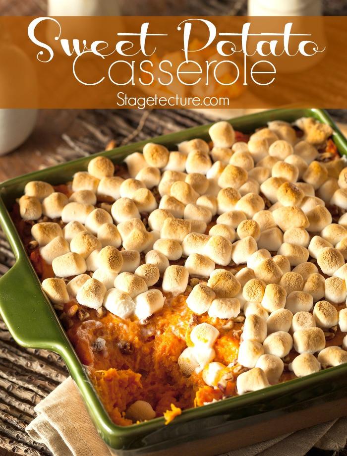 Southern Sweet Potato Casserole Marshmallows  southern sweet potato casserole recipe