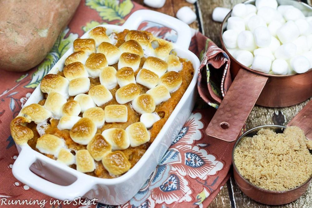 Southern Sweet Potato Casserole Marshmallows  Best Sweet Potato Casserole with marshmallows