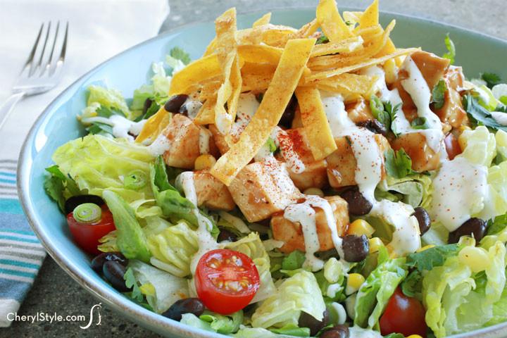 Southwest Chicken Salad Recipe  Zesty Southwest Chicken Salad Recipe