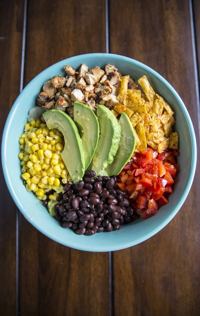 Southwest Chicken Salad Recipe  e Bowl Southwest Chicken Salad Recipe