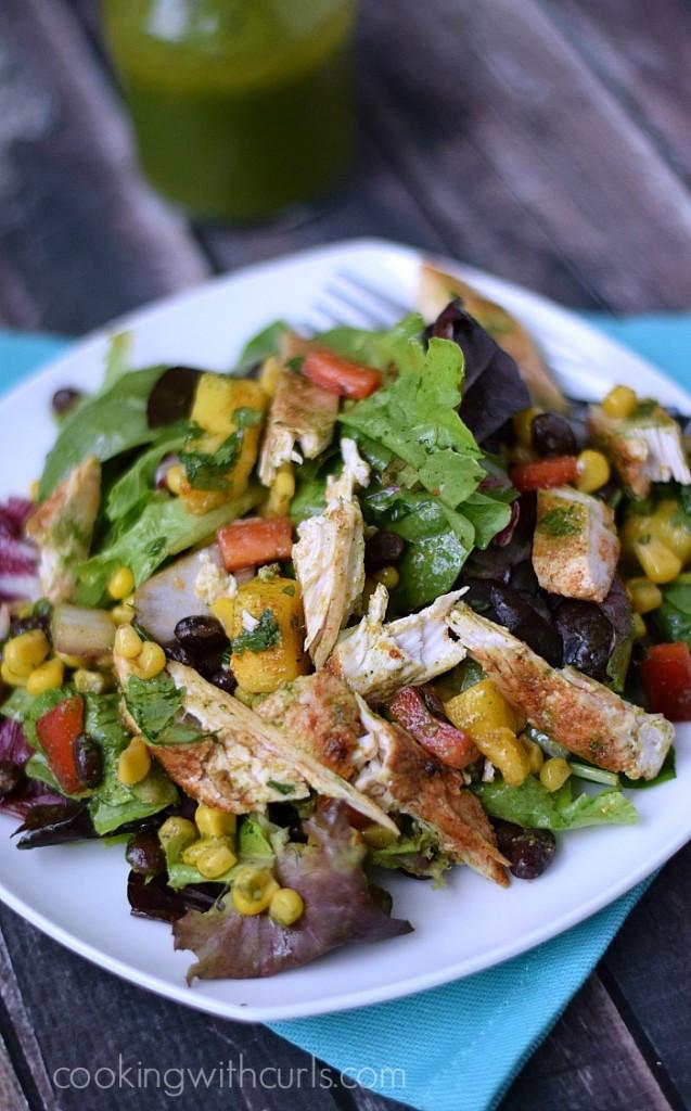 Southwest Chicken Salad Recipe  Southwest Chicken Salad Summer & pinterest Cooking With