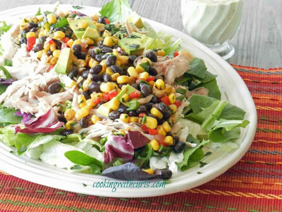 Southwest Chicken Salad Recipe  20 Delicious Main Dish Salad Recipes for Summer