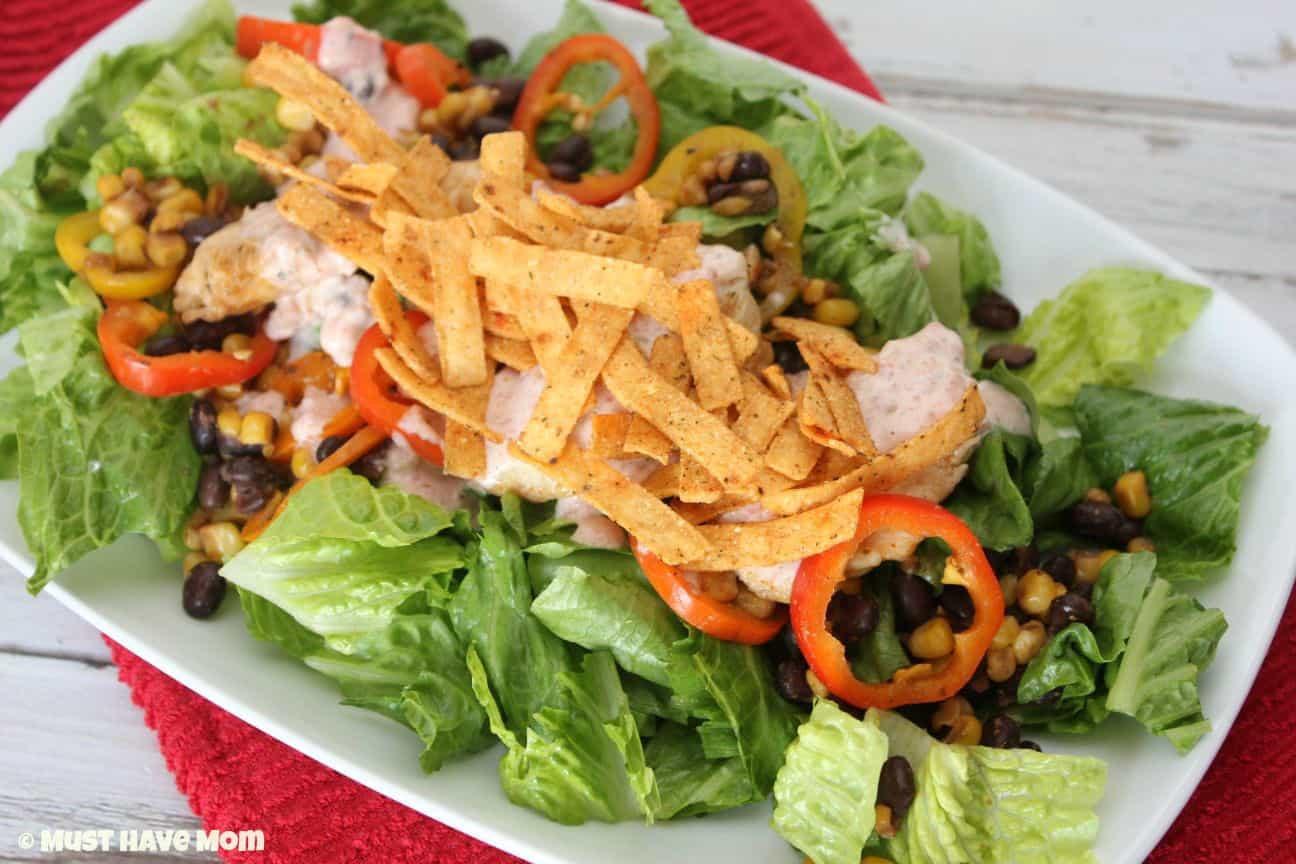 Southwest Chicken Salad Recipe  southwest salad recipe