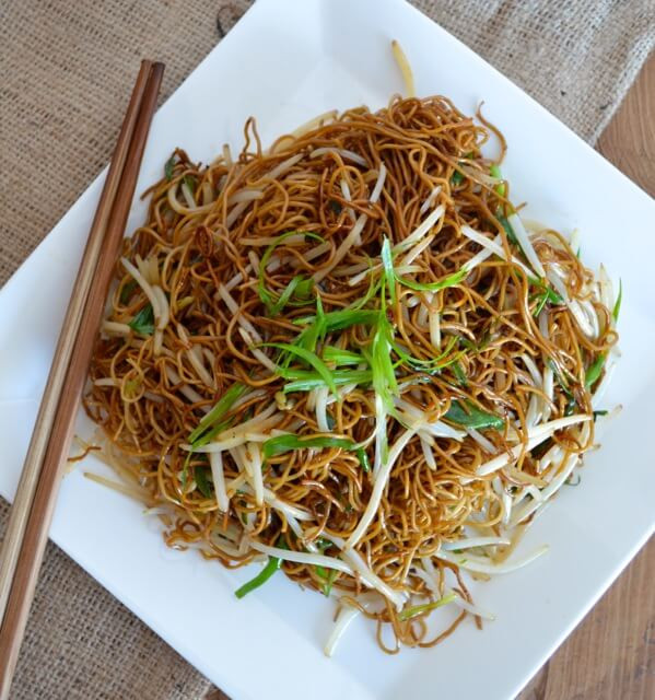 Soy Sauce Noodles  Cantonese Soy Sauce Pan Fried Noodles The Woks of Life