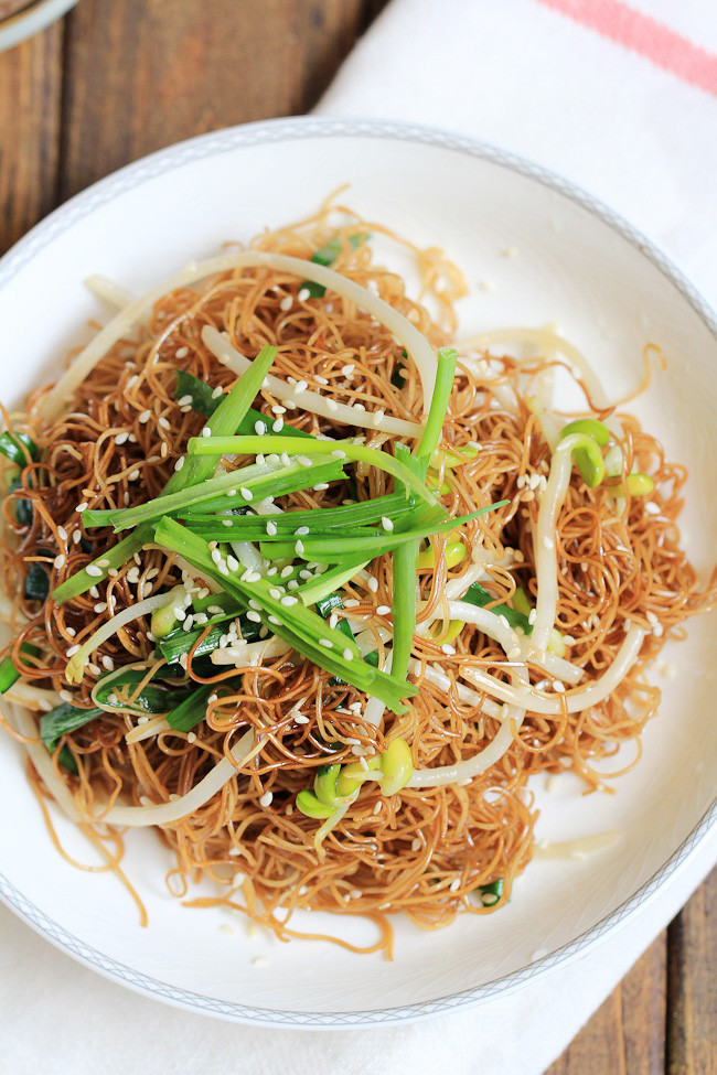 Soy Sauce Noodles  Soy Sauce Pan Fried Noodles Cantonese Chow Mein