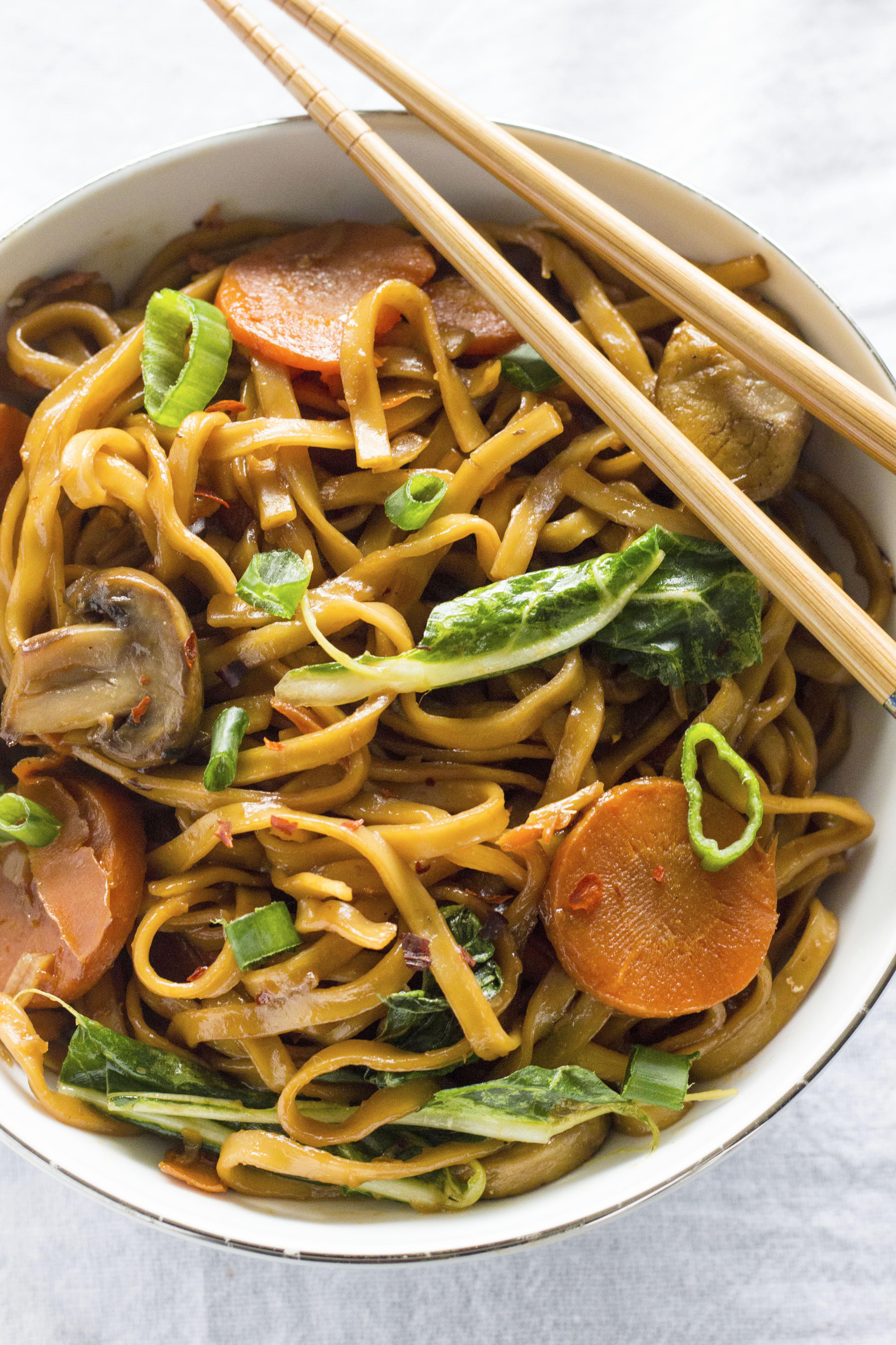 Soy Sauce Noodles  Soy Sauce Longevity Noodles