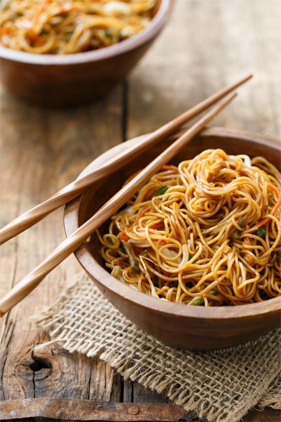 Soy Sauce Noodles  Soy Sauce Noodles