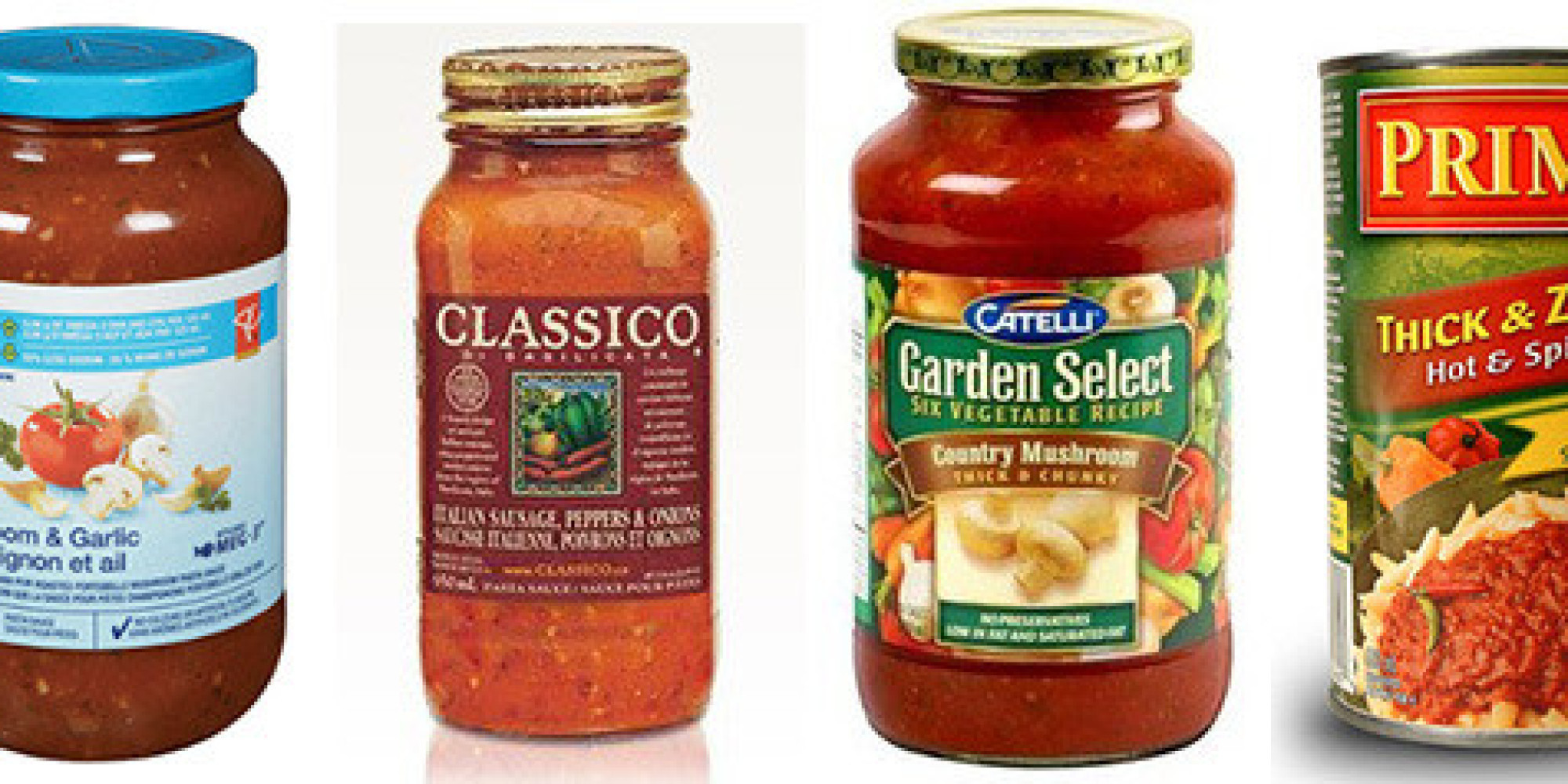 Spaghetti Sauce Brands  Sodium In Pasta Sauce Ranked