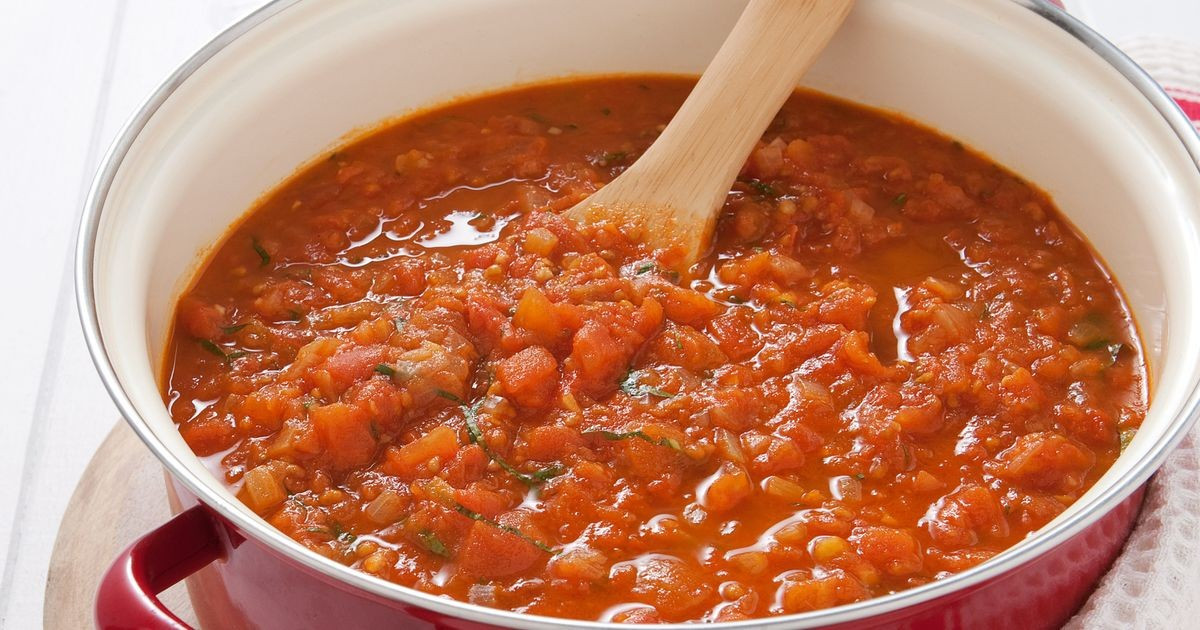 Spaghetti Sauce From Fresh Tomatoes  Fresh tomato pasta sauce